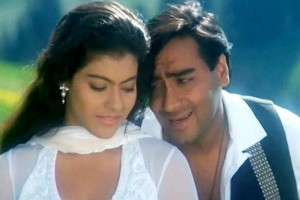 Ajay Devgn Kajol Movie Poster Ishq