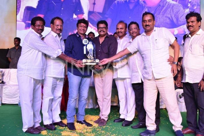 Photos: Nandamuri Balakrishna's Jai Simha completes 100 days and makers celebrate the success