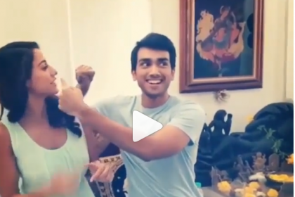 Cuteness Overloaded! This throwback video of Disha Patani singing a song with Kalidas Jayaram is unmissable