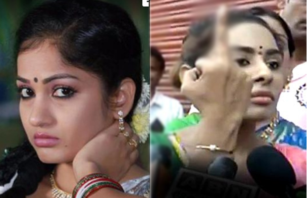 Maadhavi Latha's silent protest in support of Pawan Kalyan after Sri Reddy abuses power star
