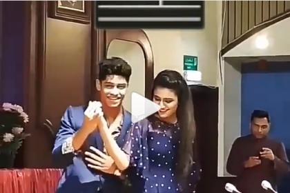 This video of Priya Prakash Varrier dancing with her Oru Adaar Love co-star Roshan Abdul Rahoof is going viral