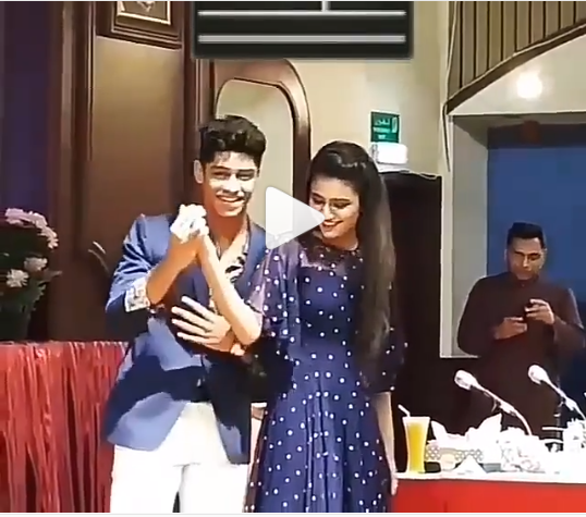 This video of Priya Prakash Varrier dancing with her Oru Adaar Love co-star Roshan Abdul Rahoof is going viral
