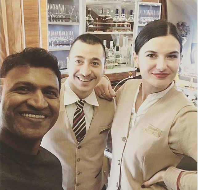Photos: Puneeth Rajkumar's holiday time in Paris!