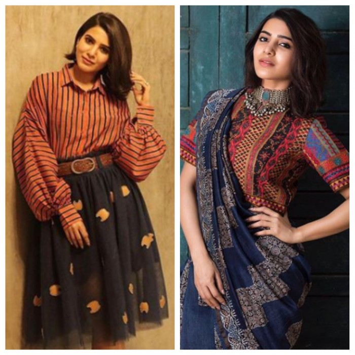 Samantha in Dhruv Kapoor outfit!