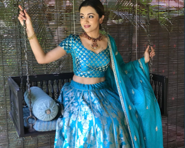 Trisha Krishnan is elegance personified in this stunning lehenga