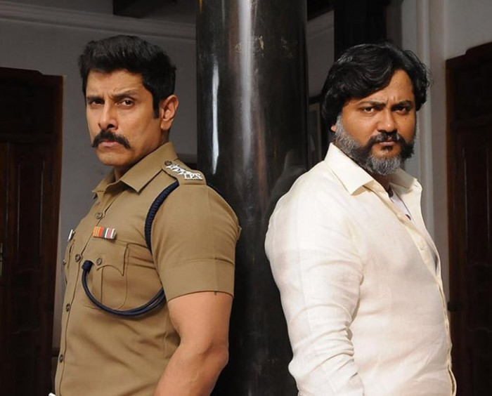 Chiyaan Vikram And Bobby Simhas Swag Is On Point In This Photo From