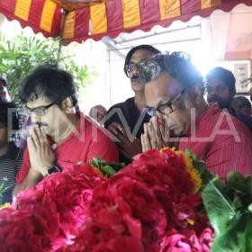Photos: Tamil film fraternity bids adieu to eminent writer Balakumaran
