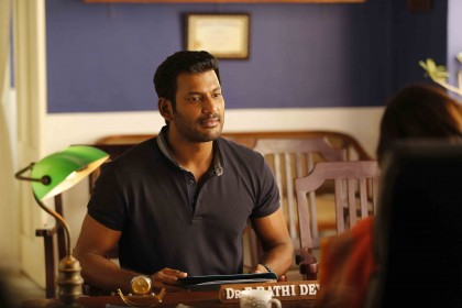 In an interesting move, Vishal screens first half of Irumbu Thirai for media personnel ahead of release