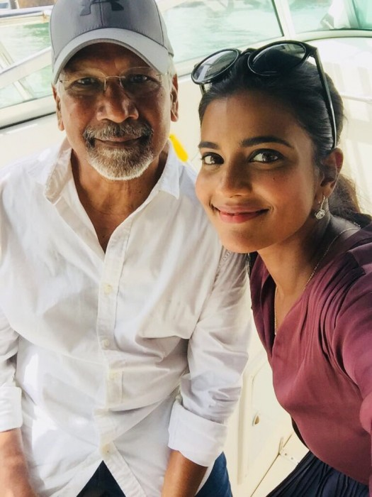 Photo: Aishwarya Rajesh wraps up shooting for Mani Ratnam's multi-starrer Chekka Chivantha Vaanam