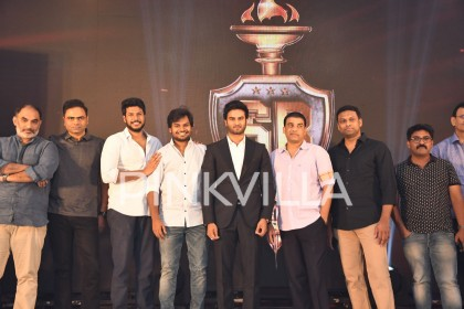 Photos: Sudheer Babu at the logo launch of his production house