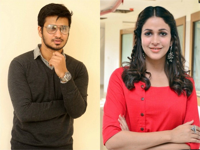 Lavanya Tripathi signed on as the leading lady for Nikhil's next with TN Santosh