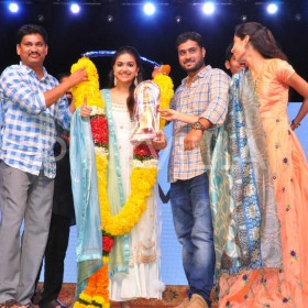 Photos: Keerthy Suresh, director Nag Ashwin and others celebrate the success of Mahanati in Vizag