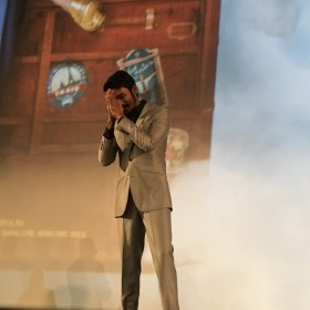 Photos: Dhanush gets a warm welcome at the premiere of The Extraordinary Journey of The Fakir in Paris