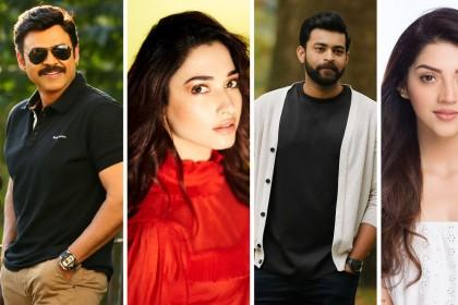 The star cast of Venkatesh and Varun Tej's F2 revealed!