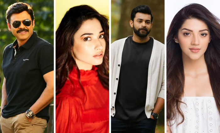 The star cast of Venkatesh and Varun Tej's F2 revealed!
