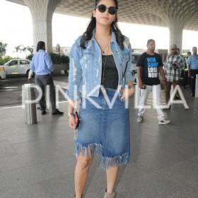 Airport diaries: Shruti Haasan makes a cool appearance!