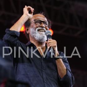 Photos: Rajinikanth at grand Kaala audio launch