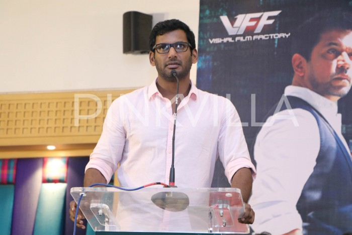 Vishal: The night before the release of Irumbu Thirai was a testing one for me