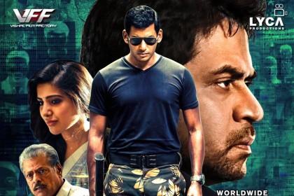 Irumbu Thirai Movie Review: A peachy thriller that's worth your buck