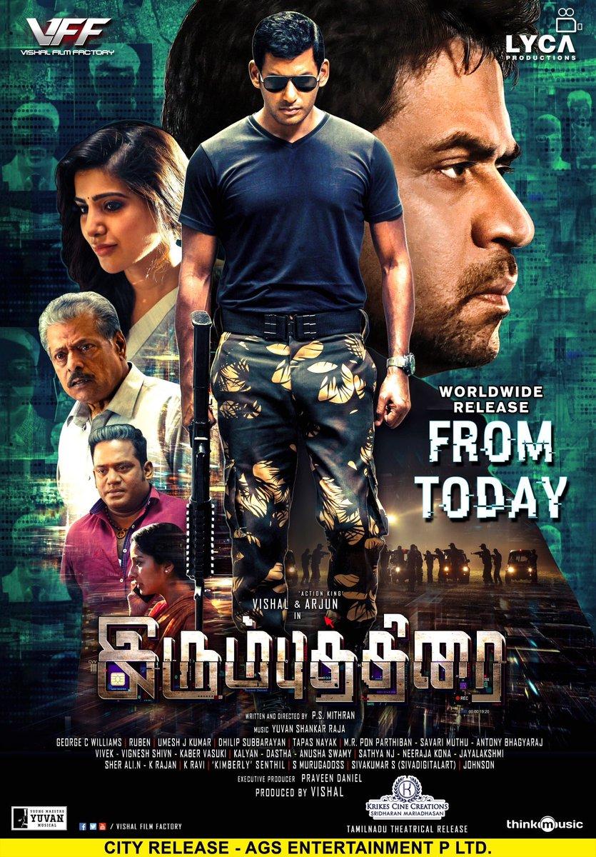 Irumbu Thirai Movie Review A Peachy Thriller That S Worth Your Buck Pinkvilla Reviews