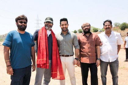 First look of Jr NTR-Trivikram's film to be releases on the actor's birthday
