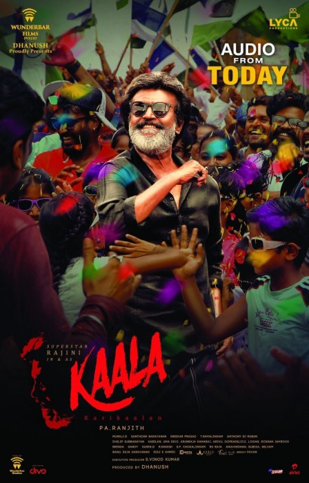 Full audio of Kaala starring Rajinikanth is out now
