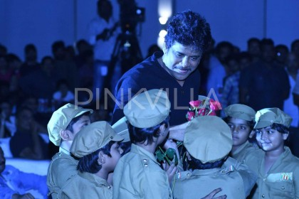 Photos: Akkineni Nagarjuna, Myra Sareen and Ram Gopal Varma grace the pre-release event of Officer