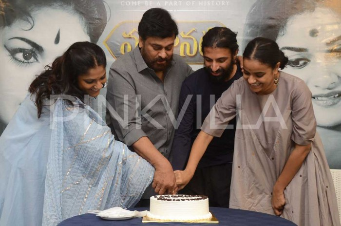 Photos: Chiranjeevi felicitates makers of Mahanati and celebrates the success