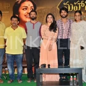 Photos: Keerthy Suresh, Vijay Deverakonda, Nag Aswhin and makers of Mahanati meet to celebrate success