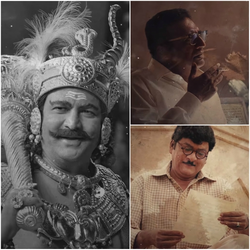 Star Cast of Mahanati: Mohan Babu as SV Ranga Rao, Prakash Raj as Chakrapani, Krish as KV Reddy and others