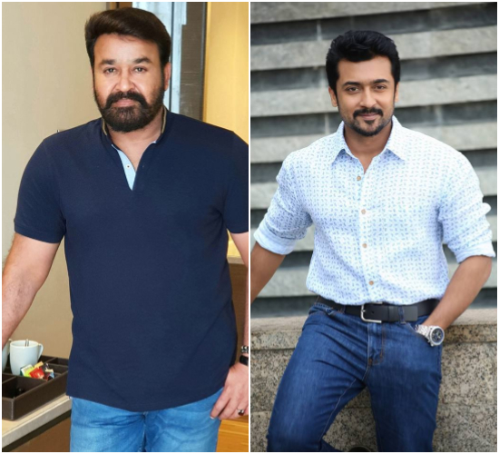 Mohanlal signed on for Suriya Sivakumar's next with director KV Anand