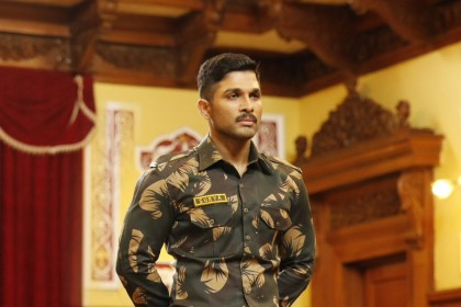 Naa Peru Surya Movie Review: Allu Arjun is terrific in this army-based film