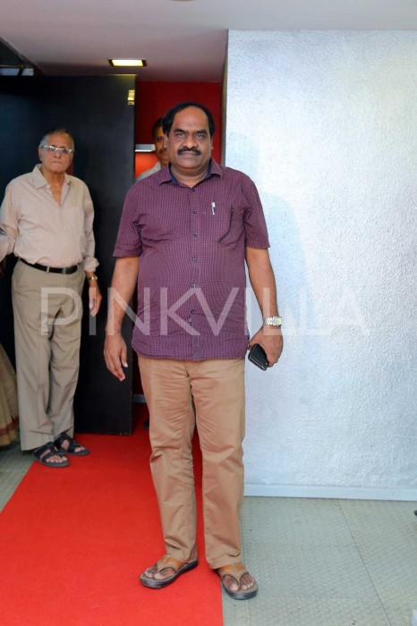 Photos: Tamil film fraternity attends the premiere show of Nadigaiyar Thilagam in Chennai