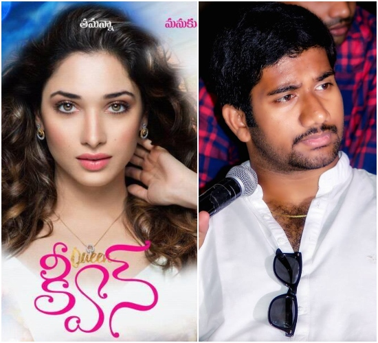 AWE director Prashanth Varma to take over the direction of Queen Telugu remake?