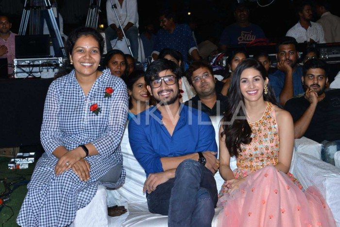 Photos: Raj Tarun, Amyra Dastur and others grace the pre-release event of Raju Gadu