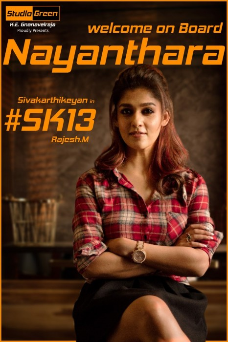 Nayanthara comes onboard for Sivakarthikeyan's upcoming with director Rajesh