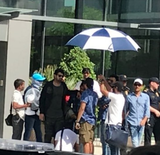 See Photos: Prabhas wraps up the action filled schedule of Saaho in Abu Dhabi