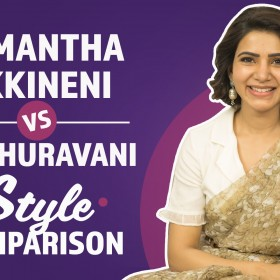 Watch Video: Samantha Akkineni's perspective of fashion and style in Mahanati
