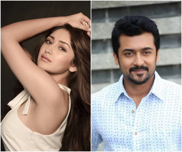Sayyeshaa roped in as the leading lady for Suriya's next with KV Anand