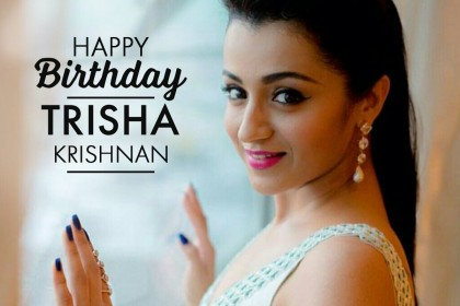 Trisha Krishnan Birthday Special: Best photos of the actress that prove she is full of life!