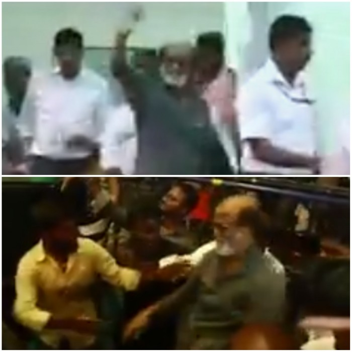 Watch: Kaala star Rajinikanth gets a huge welcome as he lands in Chennai