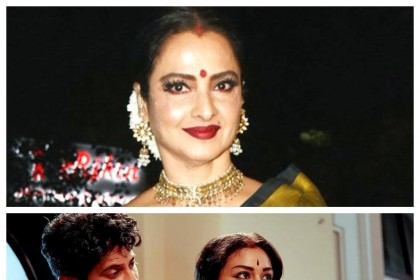 Bollywood's iconic diva Rekha keen to see her late father Gemini Ganesan's story in Mahanati