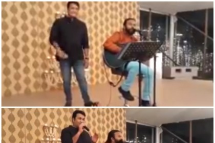 Watch: Mohanlal singing for wife Suchitra on their anniversary is the best thing you'll watch today