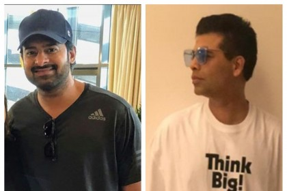 Prabhas finally breaks silence on the rift with Karan Johar