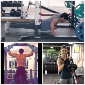 Watch: Akhil, Naga Chaitanya, Rakul Preet and others take up fitness challenge!