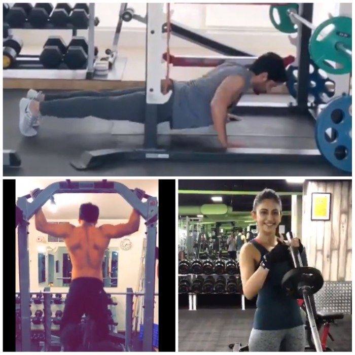 Watch: Akhil, Naga Chaitanya, Rakul Preet and others take up fitness challenge!