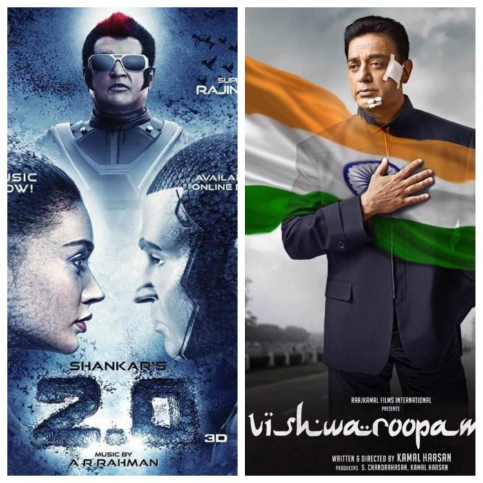 Rajinikanth and Akshay Kumar starrer 2.0 to clash with Vishwaroopam 2 on this Independence Day Weekend?