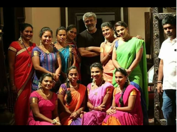 You need to check out these new stills of Thala Ajith from the sets of Viswasam