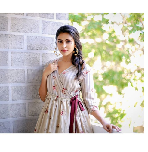 Amala Paul Makes A Pretty Appearance In An Easy Breezy Dress For