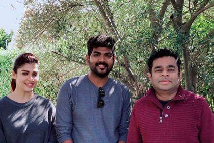 Nayanthara and boyfriend Vignesh Shivan meet AR Rahman in Los Angeles